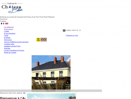 Auberge du château Bleu - Hôtel Restaurant...