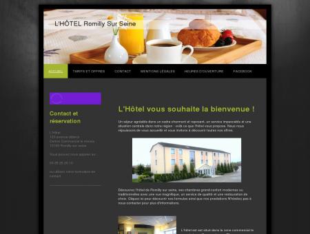 hotel romilly sur seine