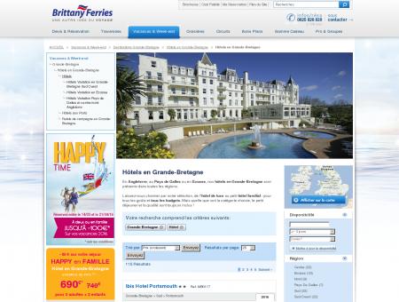 Hôtels en Grande-Bretagne - Grande-Bretagne ...