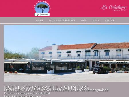 La Ceinture Restaurant, Hôtel, Café à Montcalm...