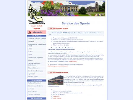 Service des Sports - Ville de Ronchin