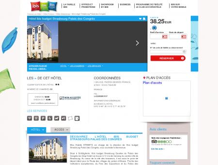 Hotel pas cher SCHILTIGHEIM - ibis budget...