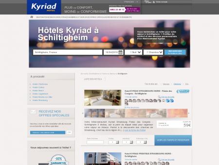 Hôtel Schiltigheim : 9 hôtels Kyriad dès 31?