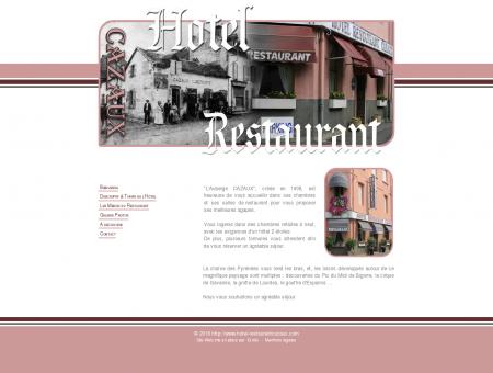 HOTEL RESTAURANT CAZAUX - Tournay >>...