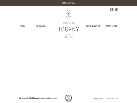 HÔTEL DE TOURNY | ACCUEIL