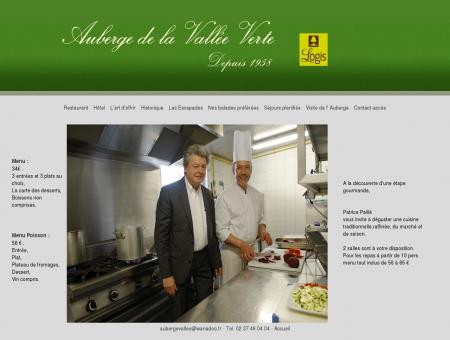Restaurant AUBERGE DE LA VALLEE VERTE -...
