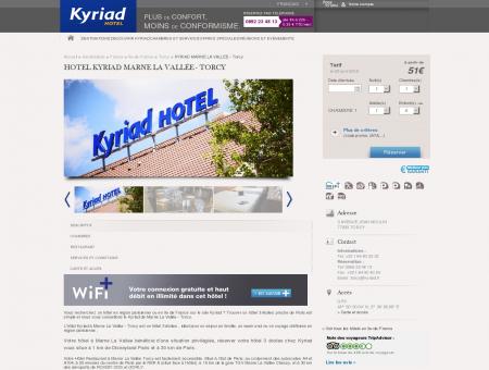 Hotel Kyriad Marne La Vallée - Torcy | Hotels...