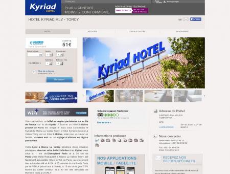 Kyriad MARNE LA VALLEE | Proche Torcy | Site...