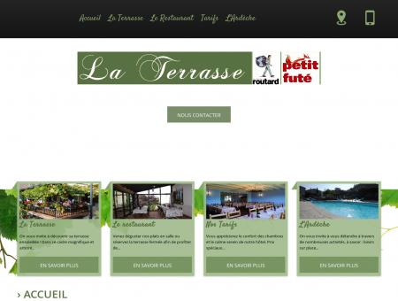 Hotel restaurant Le Crestet (Ardèche),hôtel Le...