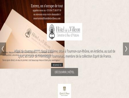 Hôtel de la Villeon - Hôtel de charme Ardèche...