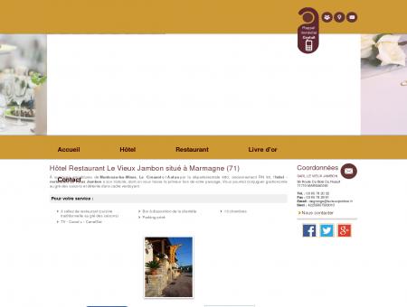 Hotel Autun - SARL LE VIEUX JAMBON :...