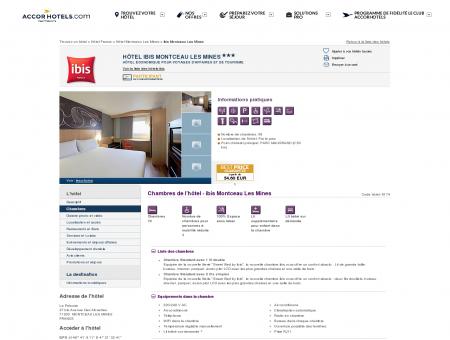 Hotel MONTCEAU LES MINES : réserver votre...