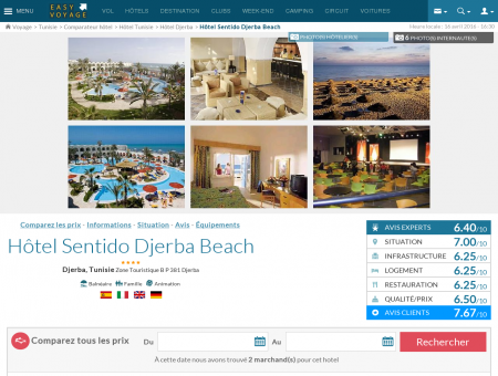 Hôtel Sentido Djerba Beach, Djerba -...