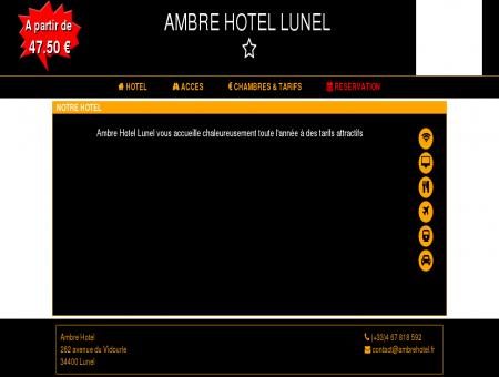 Ambre Hotel - Hotel à Lunel pas cher