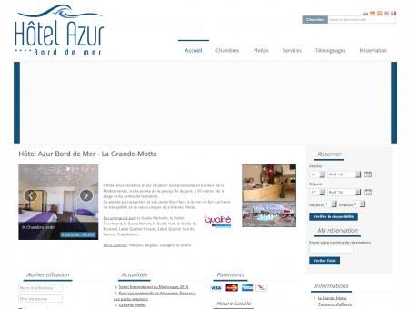 Hotel Azur Bord de Mer **** la Grande Motte...