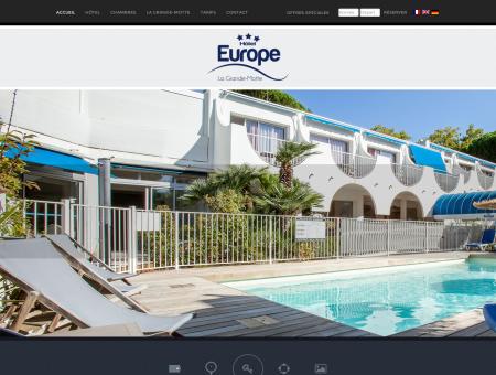 Hôtel Europe - Hôtel 3 étoiles à La Grande Motte
