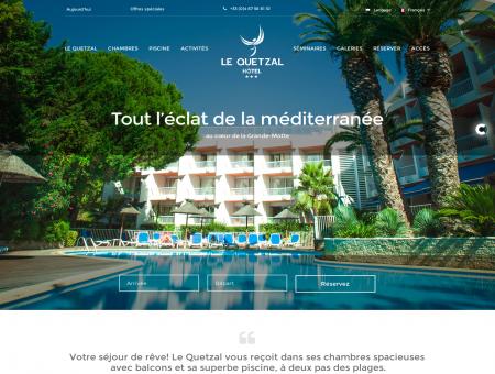 Hôtel Le Quetzal - Hôtel 3 étoiles à La Grande...