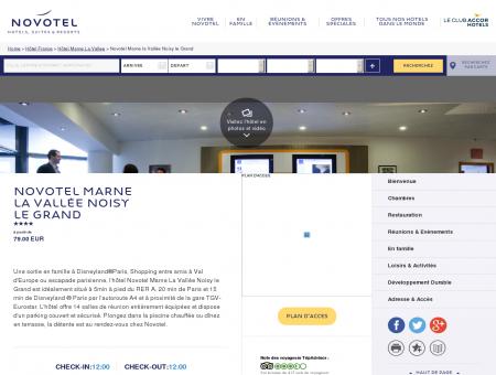 Hotel NOISY LE GRAND - Novotel Marne la...