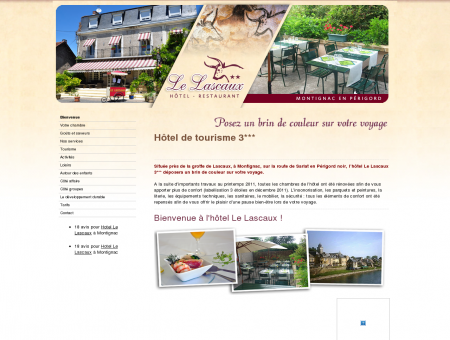 Bienvenue - Hôtel Restaurant Le Lascaux...