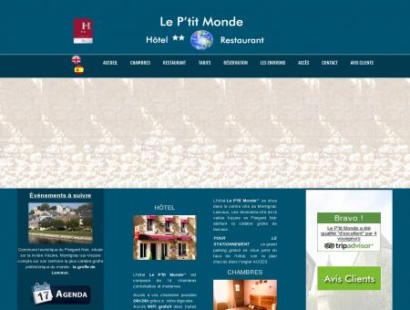 LE P'TIT MONDE, Hôtel Restaurant Montignac,...