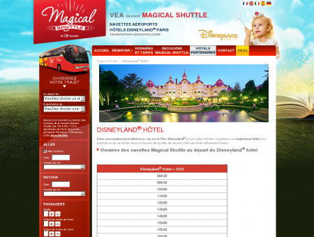Magical Shuttle assure votre transport entre les ...