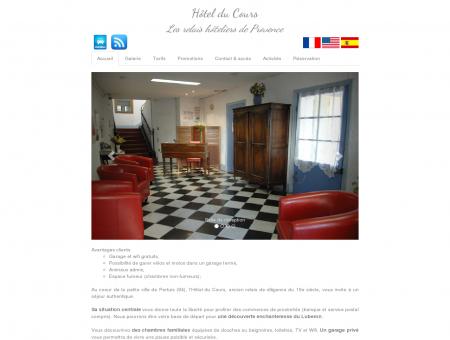 Hôtel du Cours - Pertuis (84)