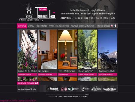 Terminus Hôtel des 3 Vallées - Bienvenue