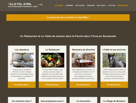 Villa fol Avril - Boutique hotel & restaurant...