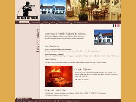 Au bord du monde - Hôtel - restaurant -...