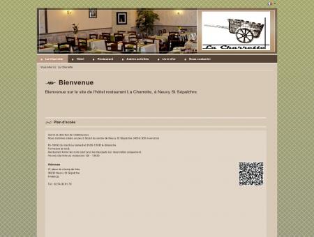 Hôtel Restaurant La Charrette à Neuvy St...