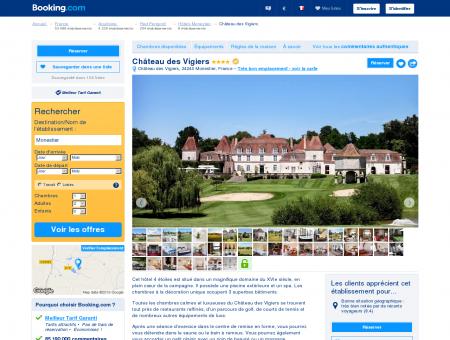 Booking.com: Hôtel Château des Vigiers -...
