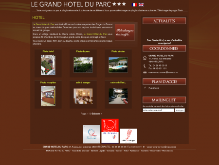 Hôtel à Florac en Lozère (48) dans les gorges...