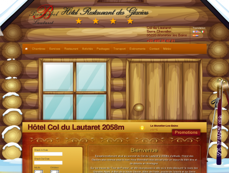 | Hôtel grand confort au sommet du col du...