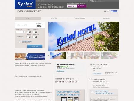 Hôtel KYRIAD ORTHEZ - Hôtel à Orthez