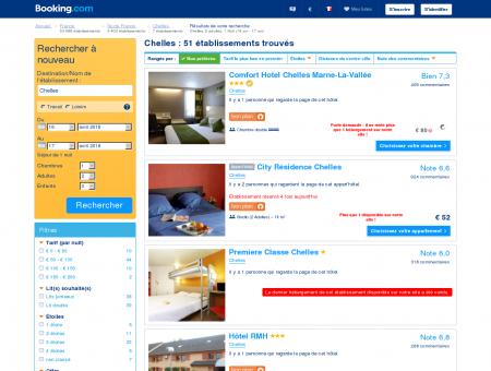 5 Hôtels à Chelles - Profitez de nos offres spéciales!