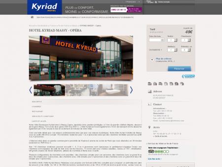 Hotel Kyriad Massy - Opéra | Hotels Kyriad