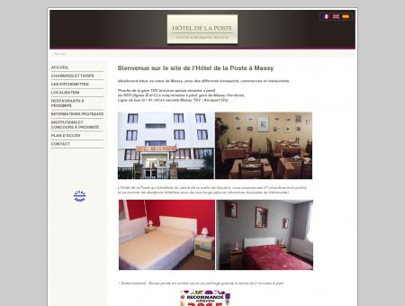 Hôtel de la Poste - Massy - 91 Essonne