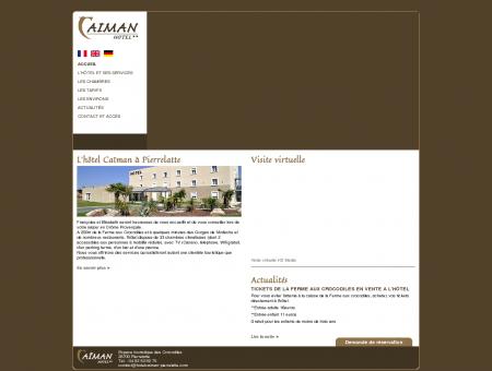Hôtel Caïman à Pierrelatte, séjours...