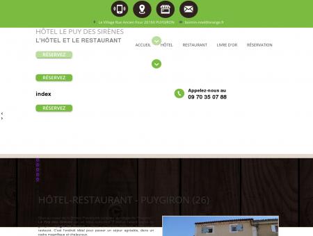 Hôtel calme, hôtel bar restaurant  Puygiron |...