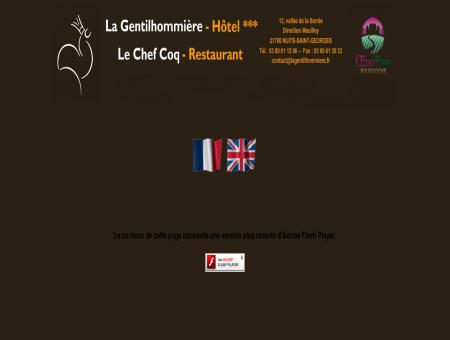 A Nuits-Saint-Georges en Bourgogne, Hotel...