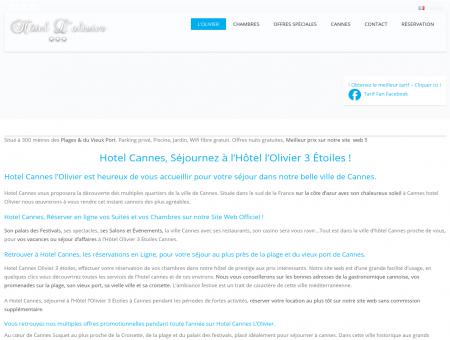 Hotel Olivier Cannes 3* Etoiles, Officiel ! Piscine ...