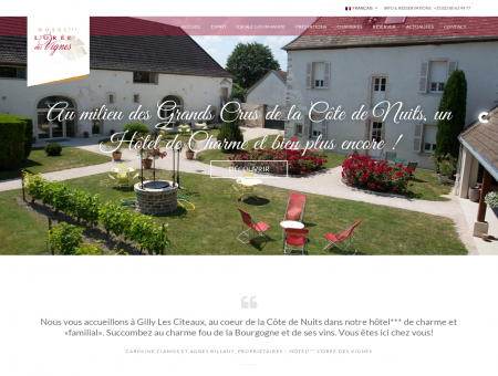 Hôtel  l'Orée des vignes - L'Orée des...