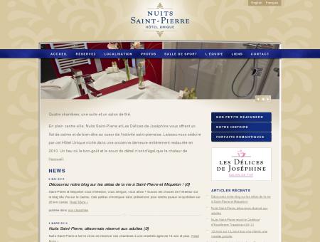 Nuits Saint-Pierre - Hôtel unique à Saint-Pierre...