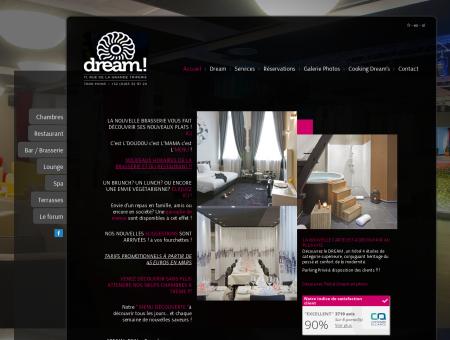 Accueil // Hôtel Dream Mons