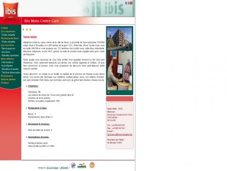 Hotel Ibis - Mons - Belgique - L'hôtel