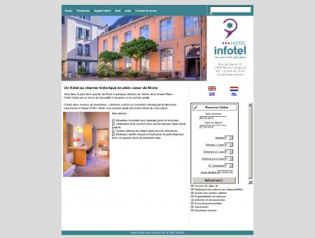 Hotel Infotel Mons Belgique . Réservation...