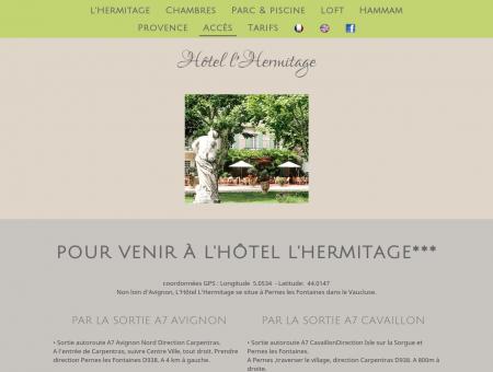 Venir à Hôtel l'Hermitage et visiter la Provence ...