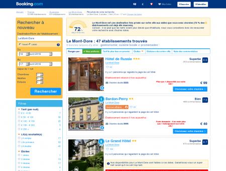 30 Hôtels à Le Mont-Dore - Profitez de nos offres spéciales!