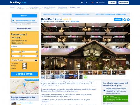 Booking.com: Hotel Mont Blanc - Megève,...