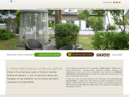 Hôtel restaurant Le Relais Aspois à Gurmençon...